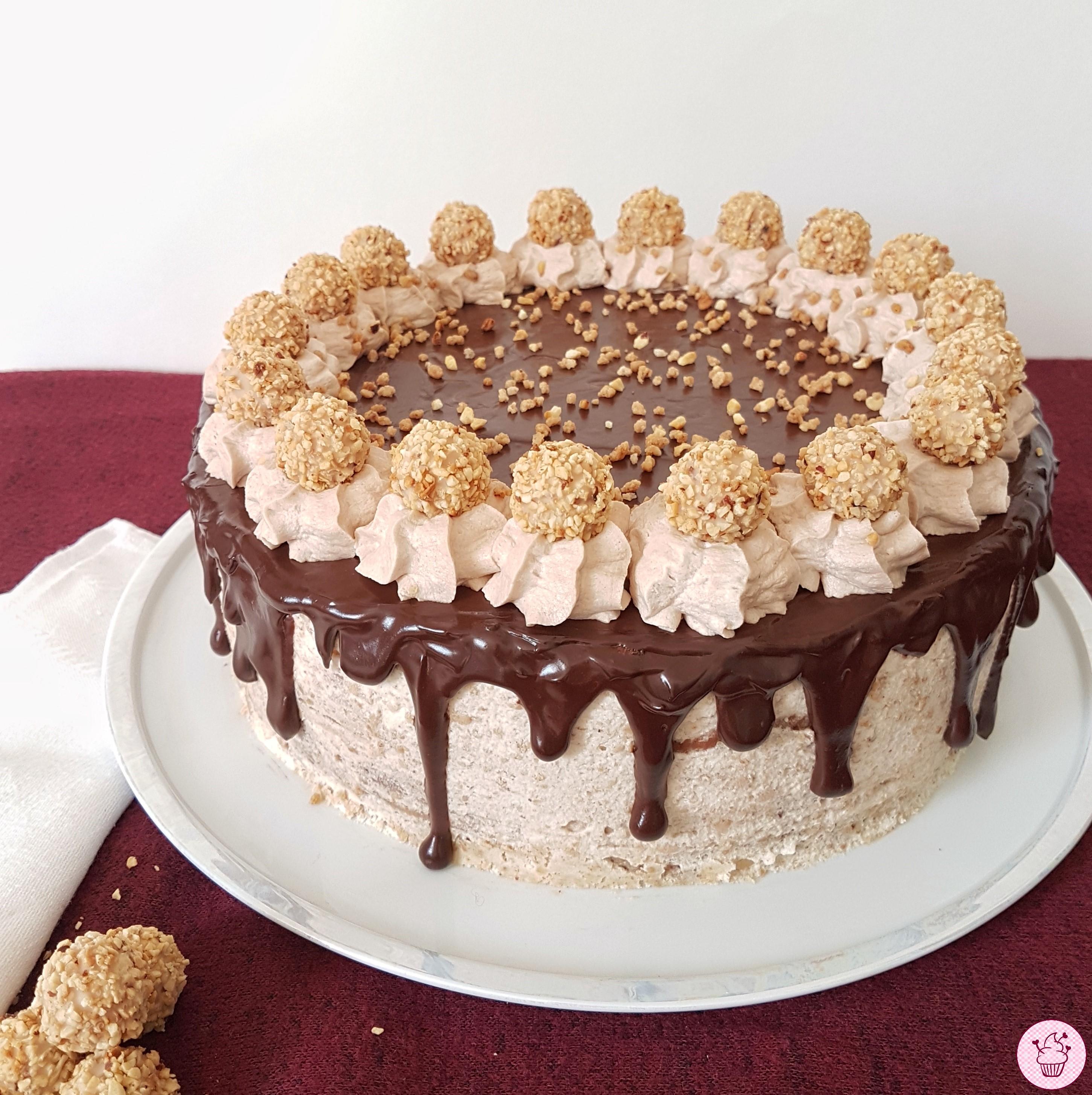 Giotto Drip Cake