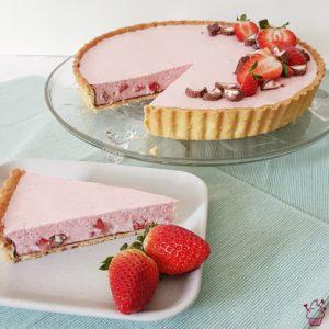 Erdbeer-Yogurette-Tarte