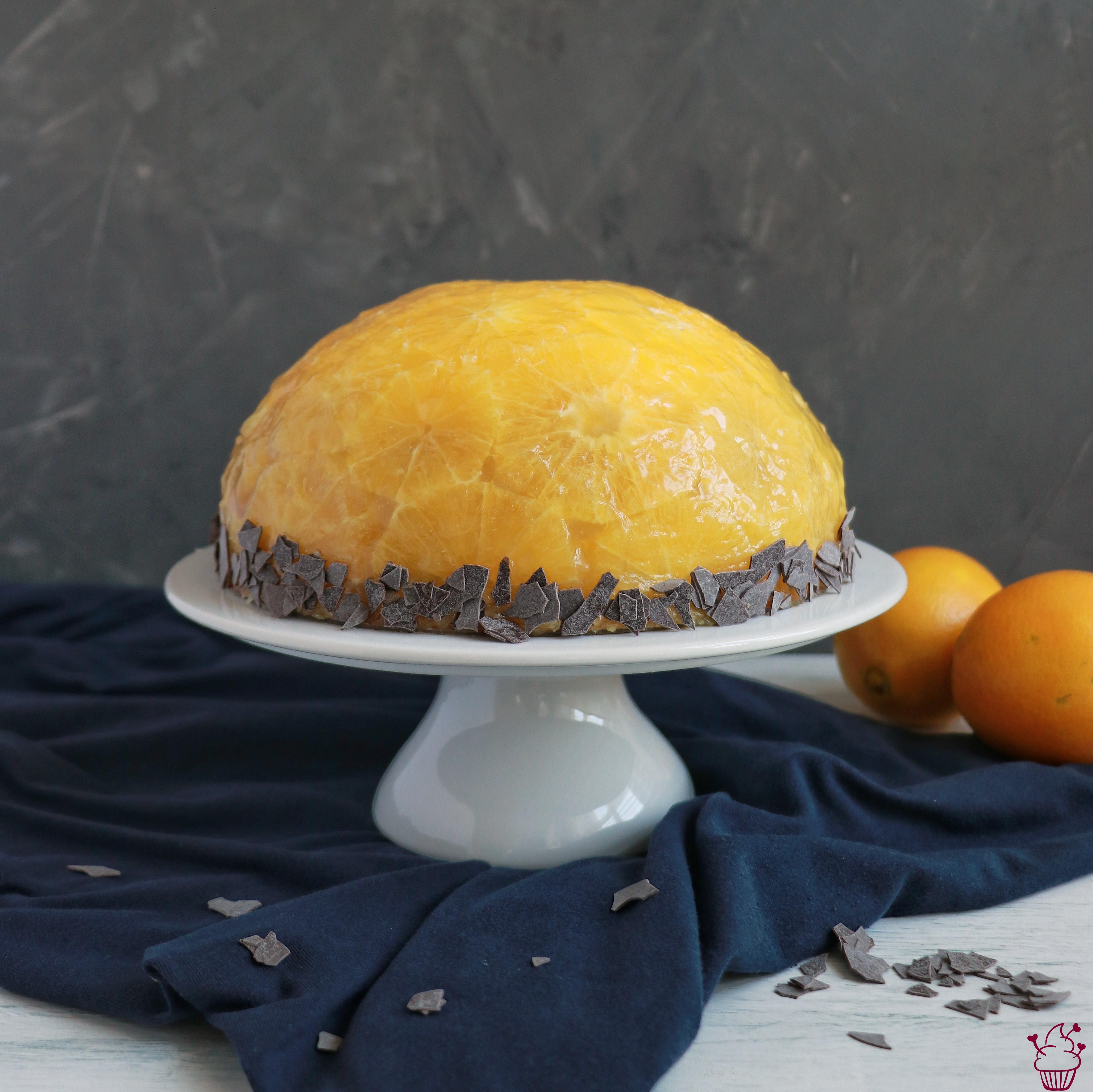 Orangen-Kuppeltorte