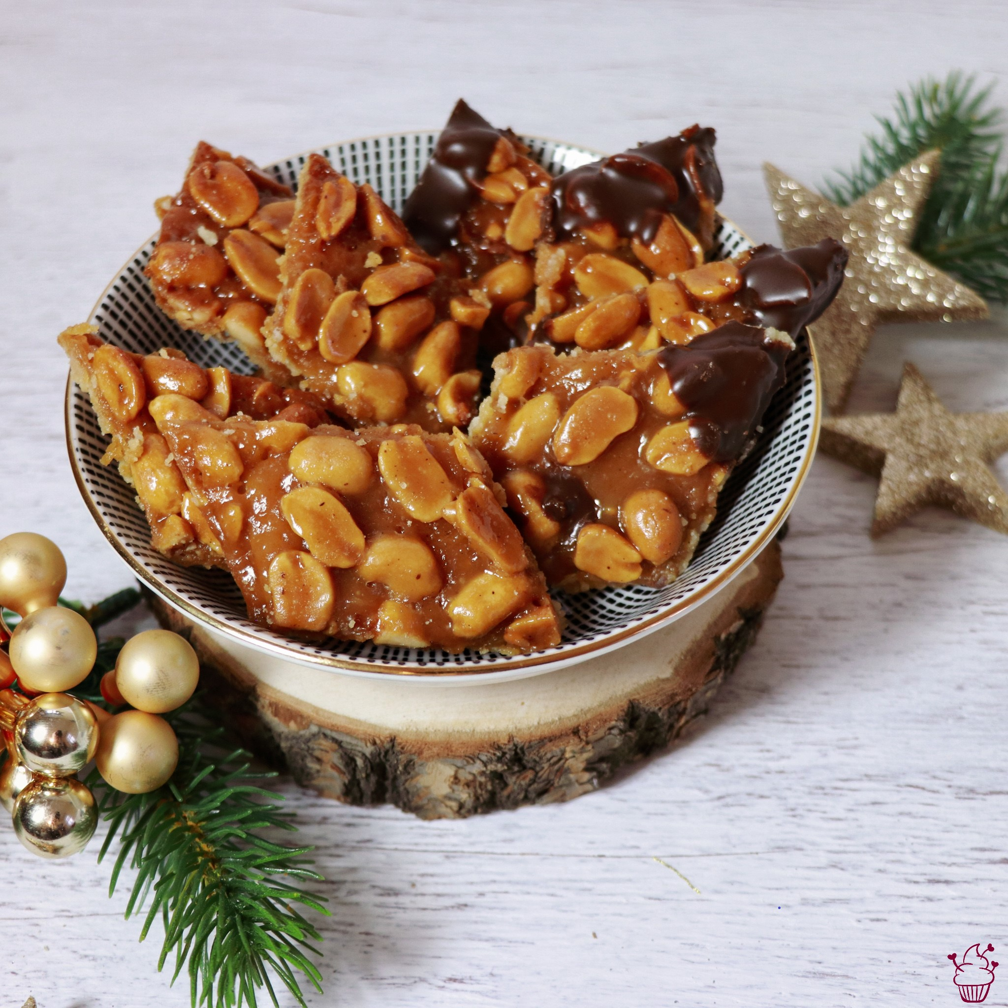 Erdnuss-Rauten