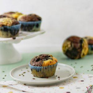 Marmor-Muffins zum Experimentieren