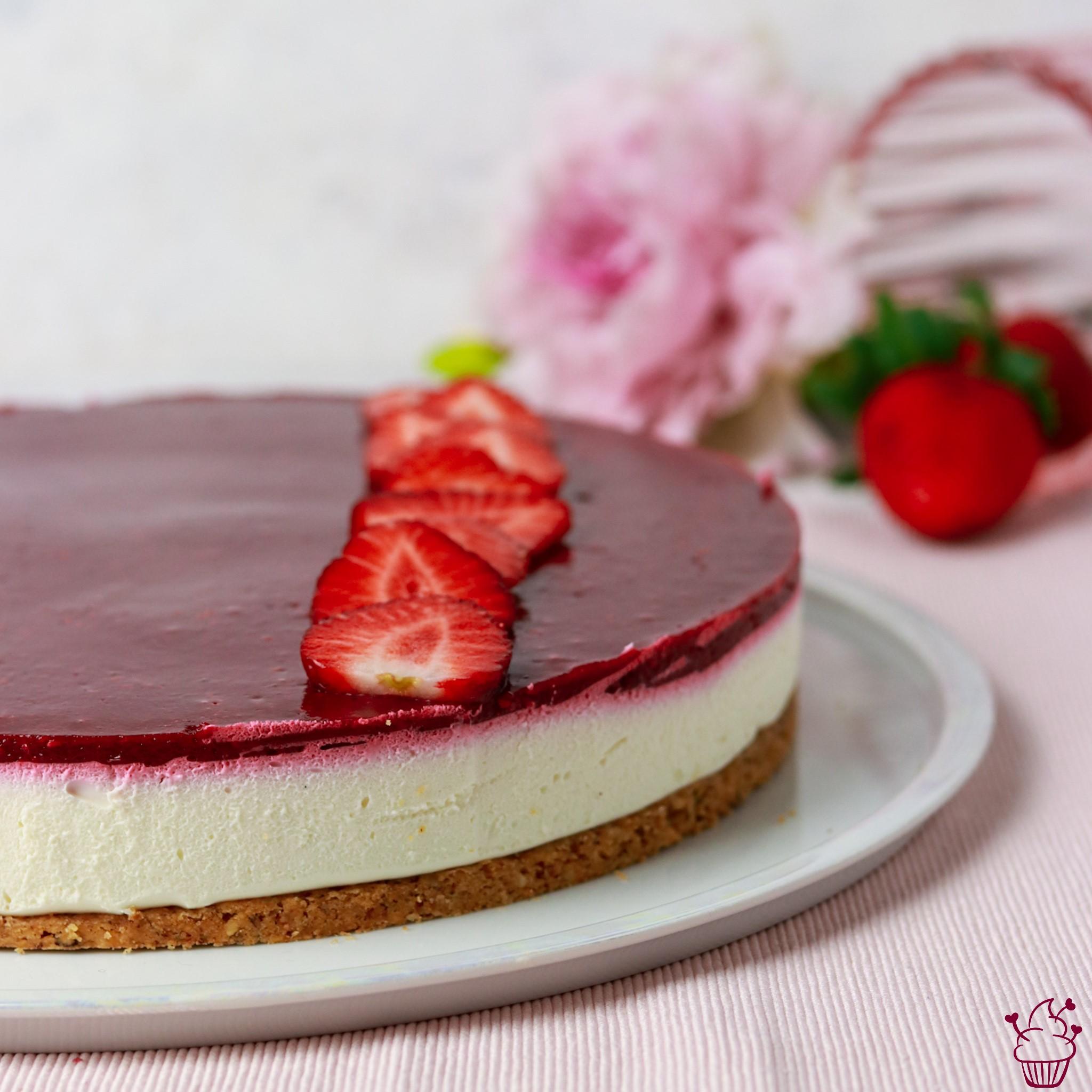 Waldbeeren-Quarksahne-Torte