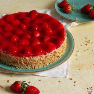 Erdbeer-Haselnuss-Torte